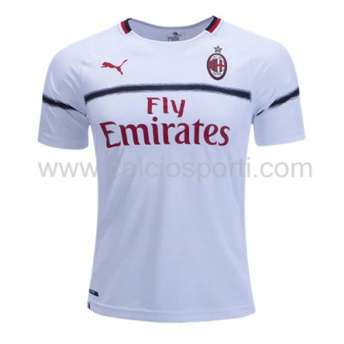 AC Milan 2018-19 Short Sleeve Away Soccer Jersey