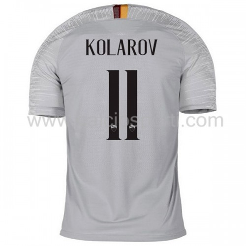 AS Roma 2018-19 Aleksandar Kolarov 11 Short Sleeve Away Soccer Jersey