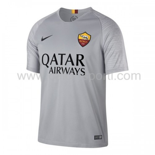 AS Roma 2018-19 Short Sleeve Away Soccer Jersey