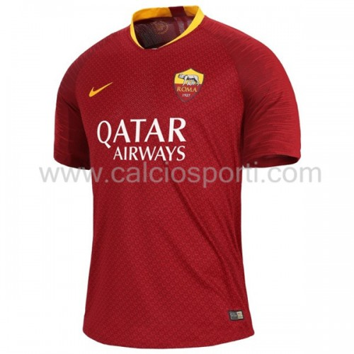 AS Roma 2018-19 Short Sleeve Home Soccer Jersey