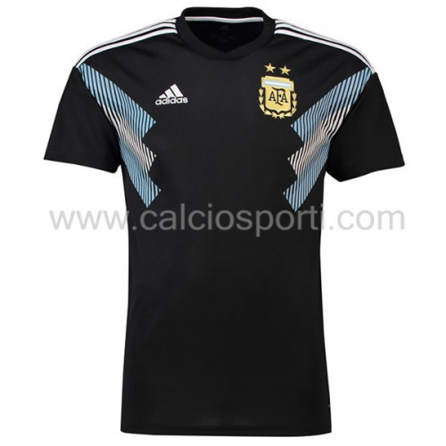 Argentina 2018 Short Sleeve Away Soccer Jersey