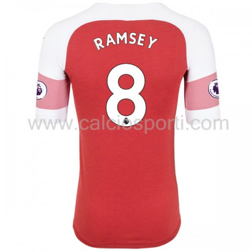 Arsenal 2018-19 Aaron Ramsey 8 Short Sleeve Home Soccer Jersey