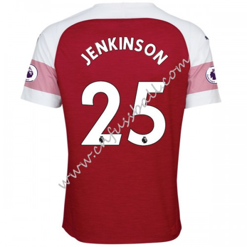 Arsenal 2018-19 Carl Jenkinson 25 Short Sleeve Home Soccer Jersey