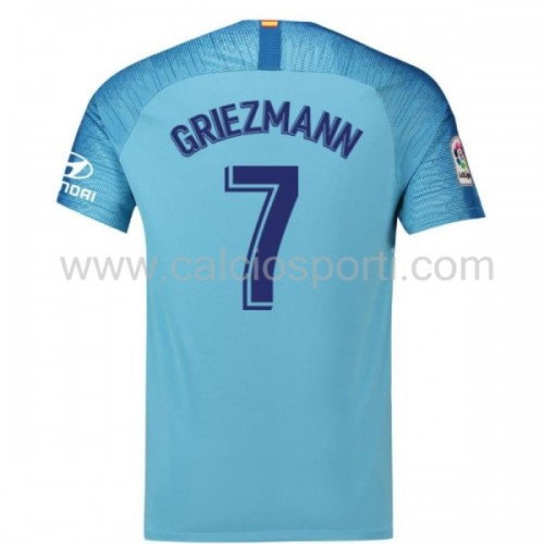 Atletico Madrid 2018-19 Antoine Griezmann 7 Short Sleeve Away Soccer Jersey