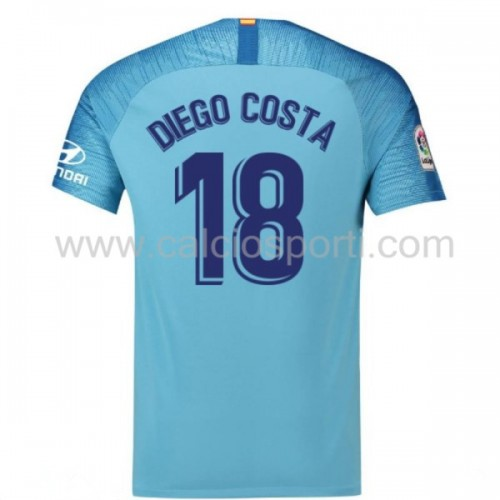 Atletico Madrid 2018-19 Diego Costa 18 Short Sleeve Away Soccer Jersey