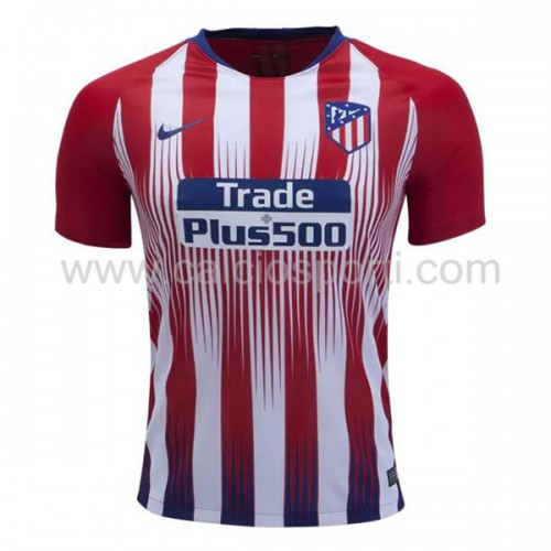 Atletico Madrid 2018-19 Short Sleeve Home Soccer Jersey
