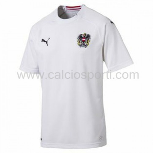 Austria 2018 Short Sleeve Away Soccer Jersey