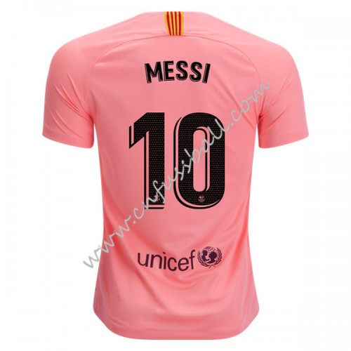 Barcelona 2018-19 Lionel Messi 10 Short Sleeve Third Soccer Jersey