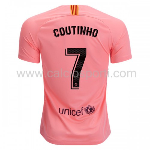 Barcelona 2018-19 Philippe Coutinho 7 Short Sleeve Third Soccer Jersey