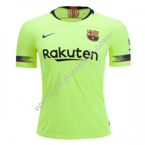 Barcelona 2018-19 Short Sleeve Away Soccer Jersey