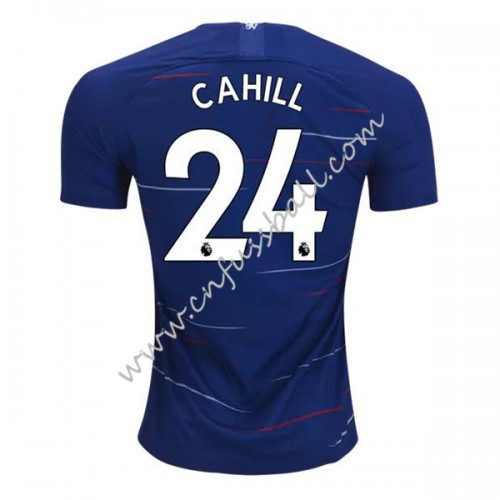 Chelsea 2018-19 Gary Cahill 24 Short Sleeve Home Soccer Jersey