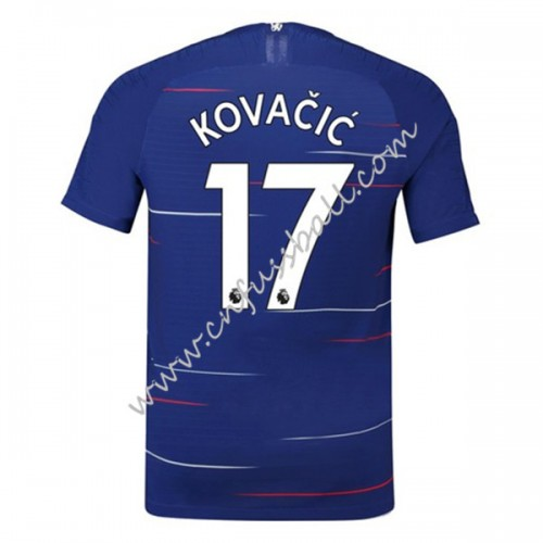 Chelsea 2018-19 Mateo Kovacic 17 Short Sleeve Home Soccer Jersey