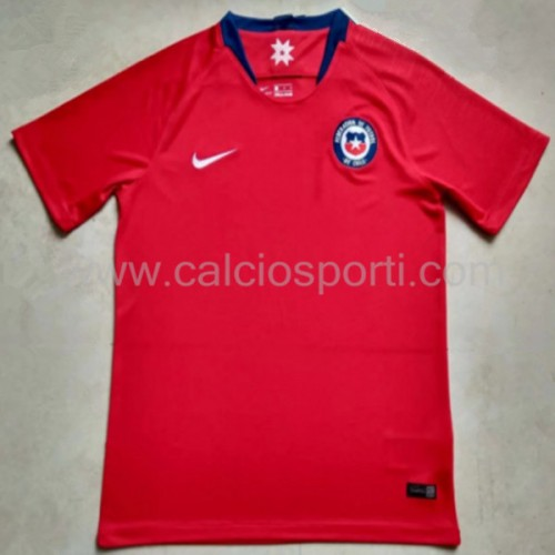 Chile Kids 2018 Short Sleeve Home Soccer Jersey