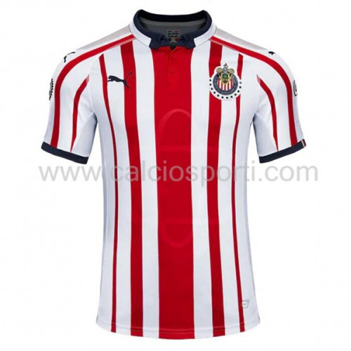 Chivas 2018-19 Short Sleeve Home Soccer Jersey