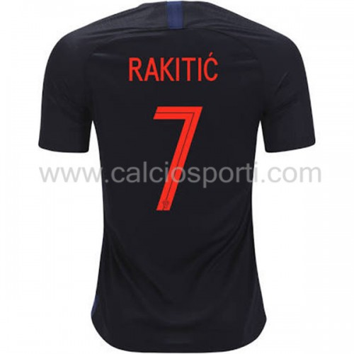 Croatia 2018 Ivan Rakitic 7 Short Sleeve Away Soccer Jersey