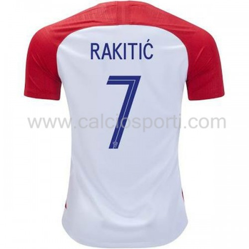 Croatia 2018 Ivan Rakitic 7 Short Sleeve Home Soccer Jersey