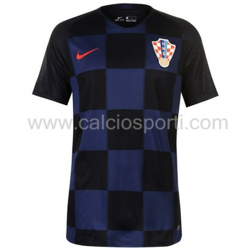 Croatia 2018 Short Sleeve Away Soccer Jersey