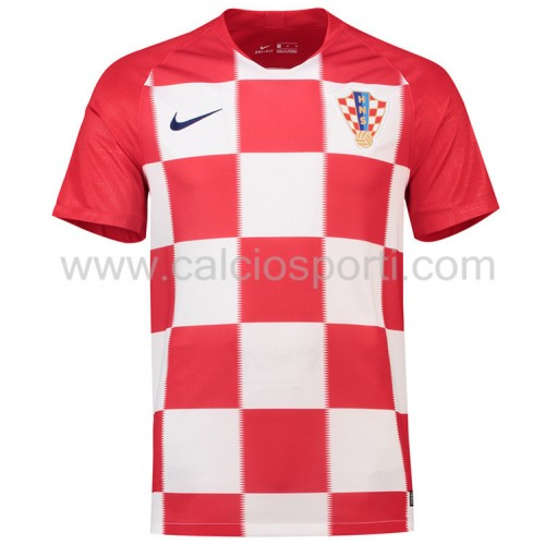 Croatia 2018 Short Sleeve Home Soccer Jersey