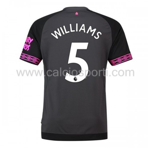 Everton 2018-19 Ashley Williams 5 Short Sleeve Away Soccer Jersey