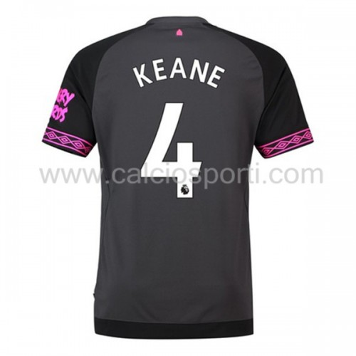 Everton 2018-19 Michael Keane 4 Short Sleeve Away Soccer Jersey