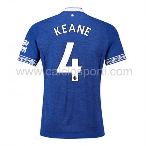 Everton 2018-19 Michael Keane 4 Short Sleeve Home Soccer Jersey