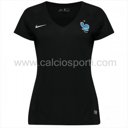 France Womens 2018 World Cup Short Sleeve Home Soccer Jersey