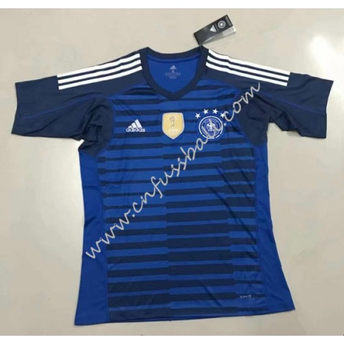 Germany 2018 Goalkeeper Short Sleeve Home Soccer Jersey