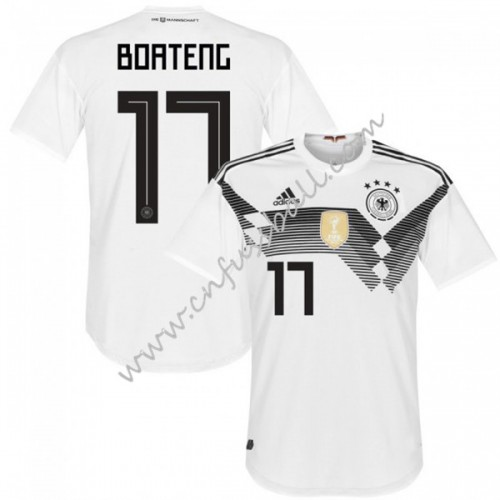 Germany 2018 Jerome Boteng 17 Short Sleeve Home Soccer Jersey