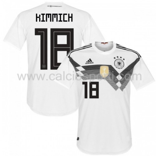 Germany 2018 Joshua Kimmich 18 Short Sleeve Home Soccer Jersey