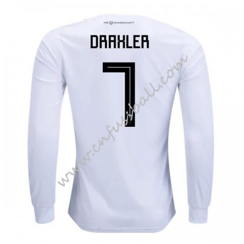 Germany 2018 Julian Draxler 7 Long Sleeve Home Soccer Jersey