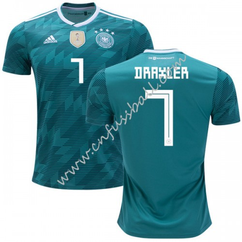 Germany 2018 Julian Draxler 7 Short Sleeve Away Soccer Jersey