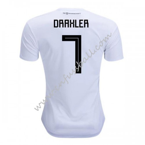 Germany 2018 Julian Draxler 7 Short Sleeve Home Soccer Jersey