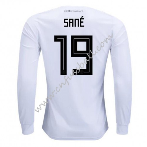 Germany 2018 Leroy Sane 23 Long Sleeve Home Soccer Jersey