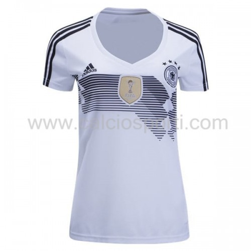 Germany Womens 2018 World Cup Short Sleeve Home Soccer Jersey