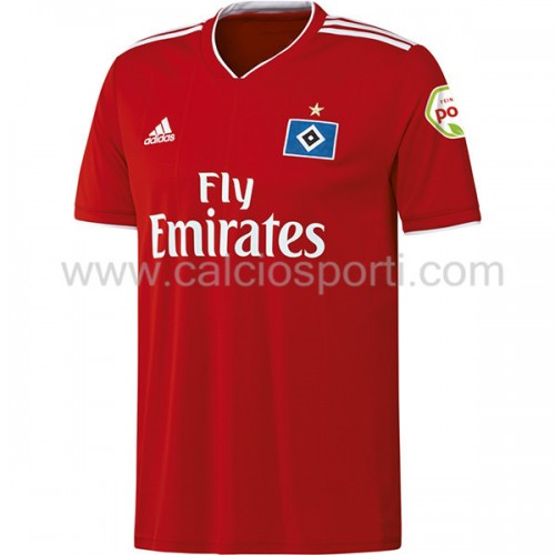 Hamburger SV 2018-19 Short Sleeve Away Soccer Jersey
