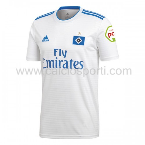 Hamburger SV 2018-19 Short Sleeve Home Soccer Jersey