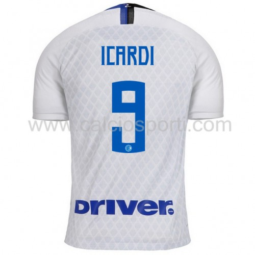 Inter Milan 2018-19 Mauro Icardi 9 Short Sleeve Away Soccer Jersey