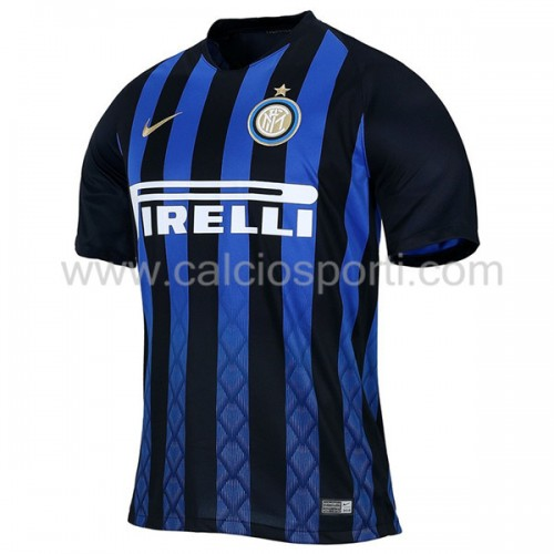 Inter Milan 2018-19 Short Sleeve Home Soccer Jersey