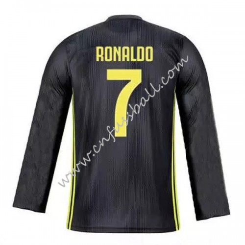 detailed look 0e9c5 ac022 Juventus 2018-19 Cristiano Ronaldo 7 Long Sleeve Third ...