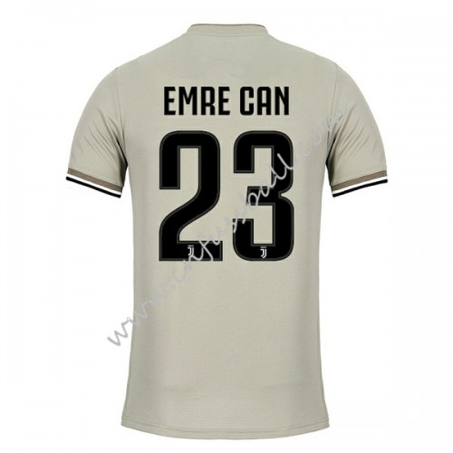 Juventus 2018-19 Emre Can 23 Short Sleeve Away Soccer Jersey