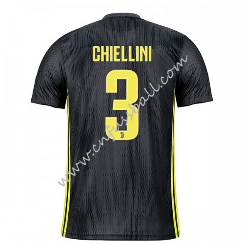Juventus 2018-19 Giorgio Chiellini 3 Short Sleeve Third Soccer Jersey