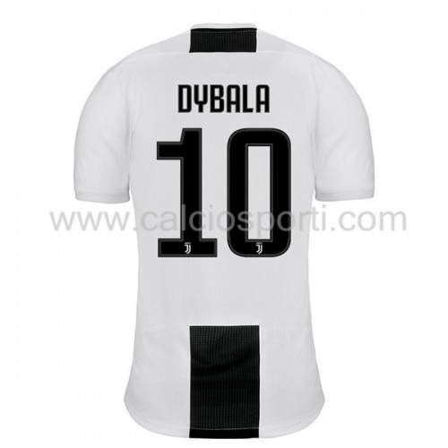 Juventus 2018-19 Paulo Dybala 10 Short Sleeve Home Soccer Jersey