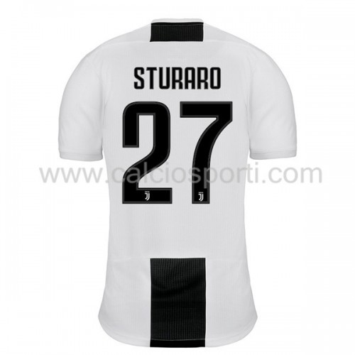 Juventus 2018-19 Stefano Sturaro 27 Short Sleeve Home Soccer Jersey