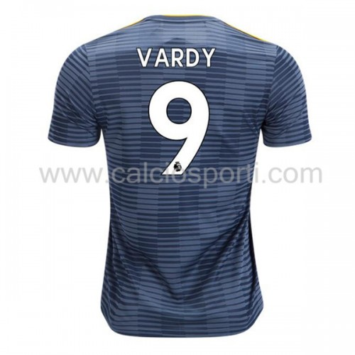 Leicester City 2018-19 Jamie Vardy 9 Short Sleeve Away Soccer Jersey