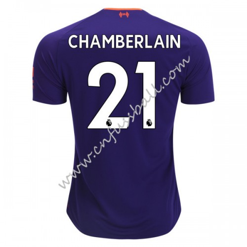 Liverpool 2018-19 Alex Chamberlain 21 Short Sleeve Away Soccer Jersey