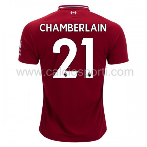 Liverpool 2018-19 Alex Chamberlain 21 Short Sleeve Home Soccer Jersey