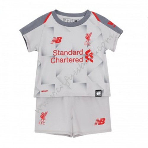 Liverpool Kids 2018-19 Short Sleeve Third Soccer Jersey