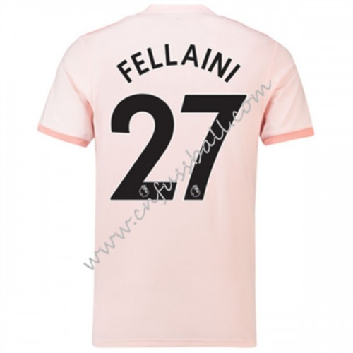 Manchester United 2018-19 Marouane Fellaini 27 Short Sleeve Away Soccer Jersey