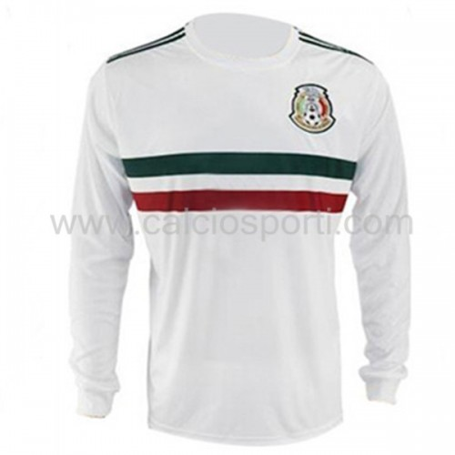 Mexico 2018 Long Sleeve Away Soccer Jersey