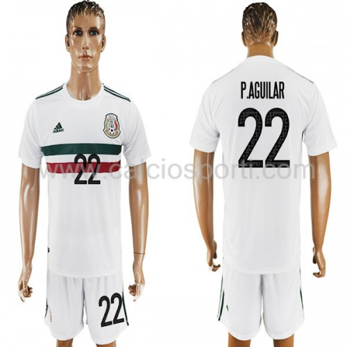 Mexico 2018 Paul Aguilar 22 Short Sleeve Away Soccer Jersey
